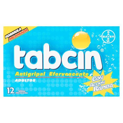 Tabcin Efervescente Adulto - 12 Unidades