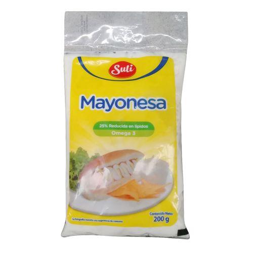 Mayonesa Suli Bolsa - 200Gr