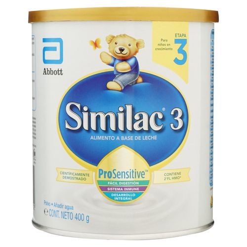 Formula Infantil Similac No.3 HMO - 400 gr