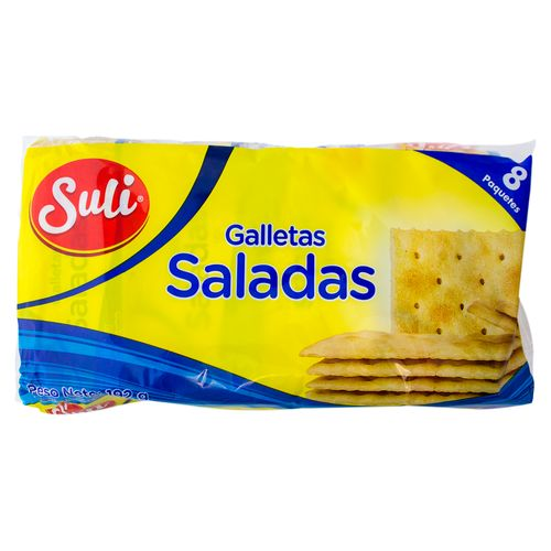 Galleta Suli Salada 8 Unidades - 192gr