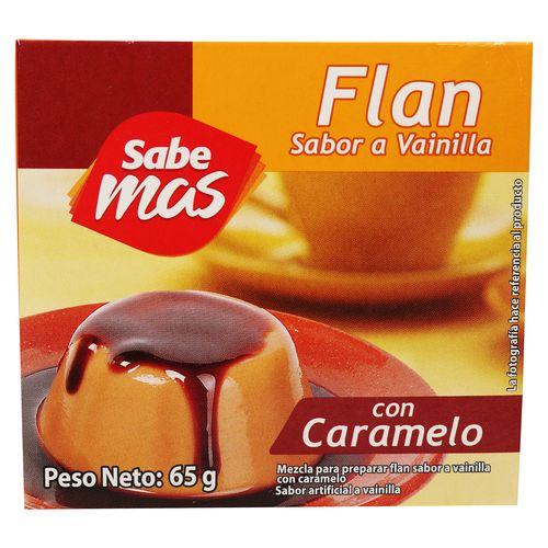 Flan Sabemas Vainilla Con Caramelo - 65gr