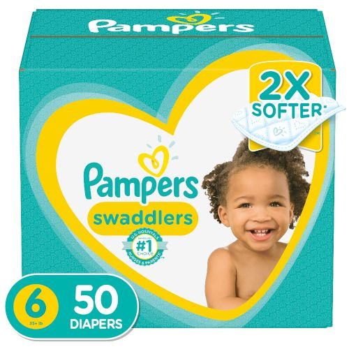 Pañal Pampers Swaddlers S6 Super - 50 Unidades