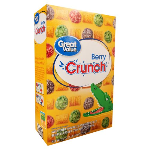 Cereal Great Value Berry Crunch - 793gr