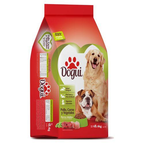Alimento Para Perro Dogui Adulto Pollo Carne  Y Vegetales - 18.1Kg